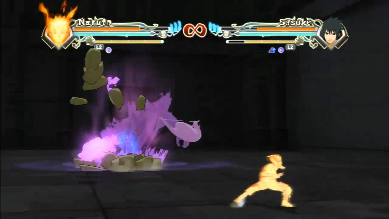 Software compatibility and play experience may differ on nintendo switch. Kyuubi Chakra Mode Naruto VS. MS Sasuke - YouTube