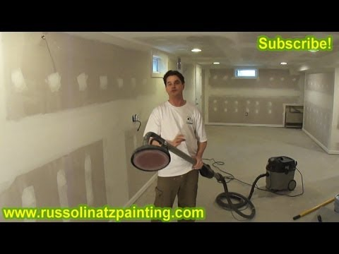 Porter Cable Drywall Dust Free Sander Youtube