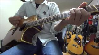 リクエスト曲です。ソロとエンディングのエレキギターのフレーズが印象...