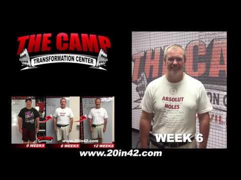 Jacksonville FL Weight Loss Fitness 12 Week Challenge Results - Jeff Grady