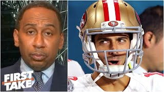 First Take debates if Jimmy Garoppolo received too much blame for the 49ers losing Super Bowl LIV