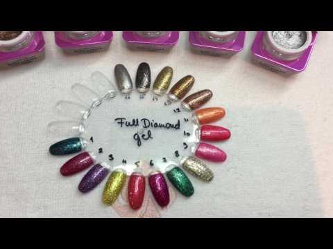 FULL DIAMOND gel färger