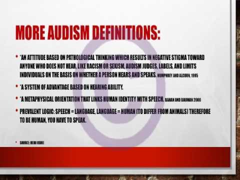 audism definition