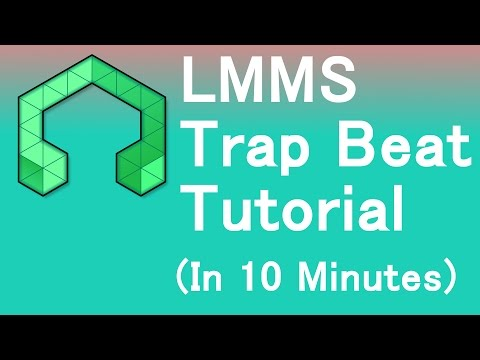 LMMS Trap Beat Tutorial (In 10 Minutes)