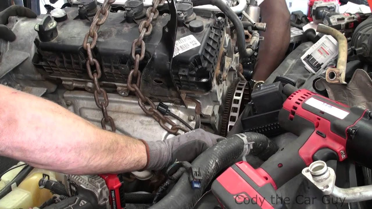 hight resolution of dodge 2 7 to a 3 5 swap