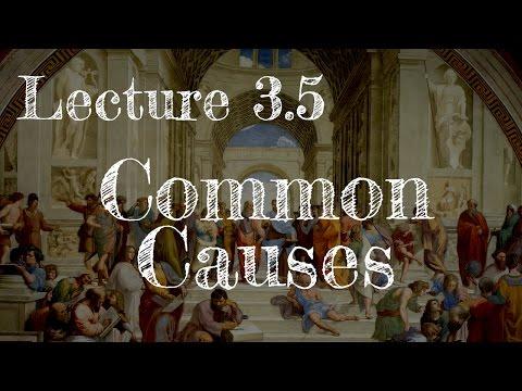 Calling Bullshit 3.5: Common Causes