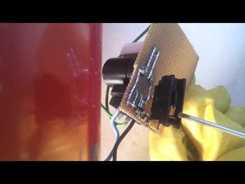 Niemals DC mit einem AC-Schalter schalten!