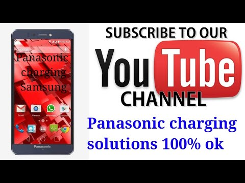 Panasonic p55 charging problem हिन्दी में _panasonic p55 Novo charging  solution