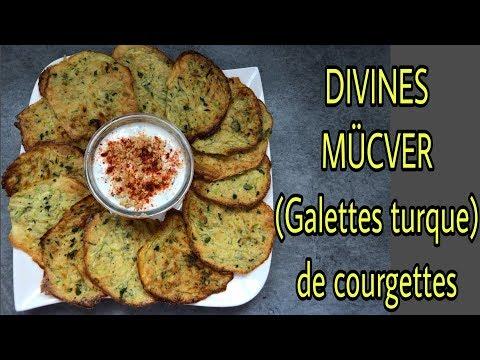 🍎❤️mÜcver-:-divines-galettes-turque-de-courgettes-au-four-(recette-légère)