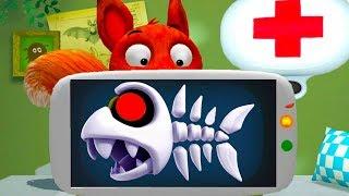 ДОКТОР КИД #1 лечу животных как Доктор Плюшева. Мультик игра для детей про друзей лисенка #пурумчата