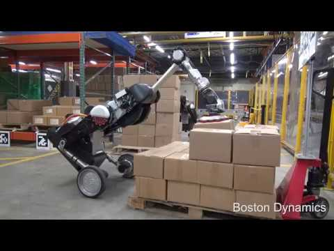 Handle Robot Reimagined for Logistics