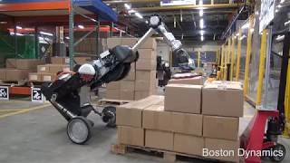 Handle - Boston Dynamics Packing Handling Robot
