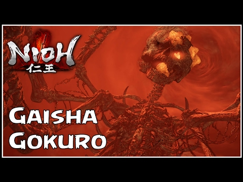 NIOH - GASHA-GOKURO BOSS ENORME! - #30 - Legendado PT-BR PS4 Pro