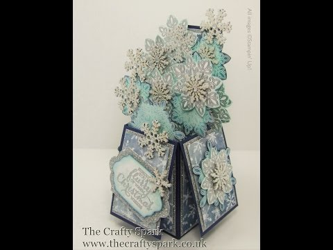 Flurry of Wishes Card-In-A-Box Tutorial