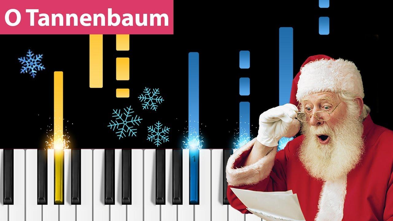 O Tannenbaum Piano.O Tannenbaum O Christmas Tree Piano Tutorial How To Play O Tannenbaum