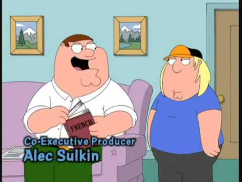 Family Guy French For Seal 2013 Youtube