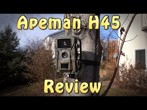 Apeman Trail Camera Review - H45