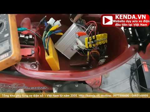 Khám bệnh xe điện 133M đã cắt 2 dây công tắc phanh vẫn không chạy