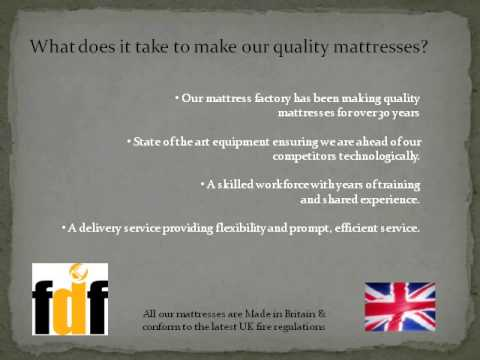 Factory Direct Furniture Mattesses; Oak Furniture FDF