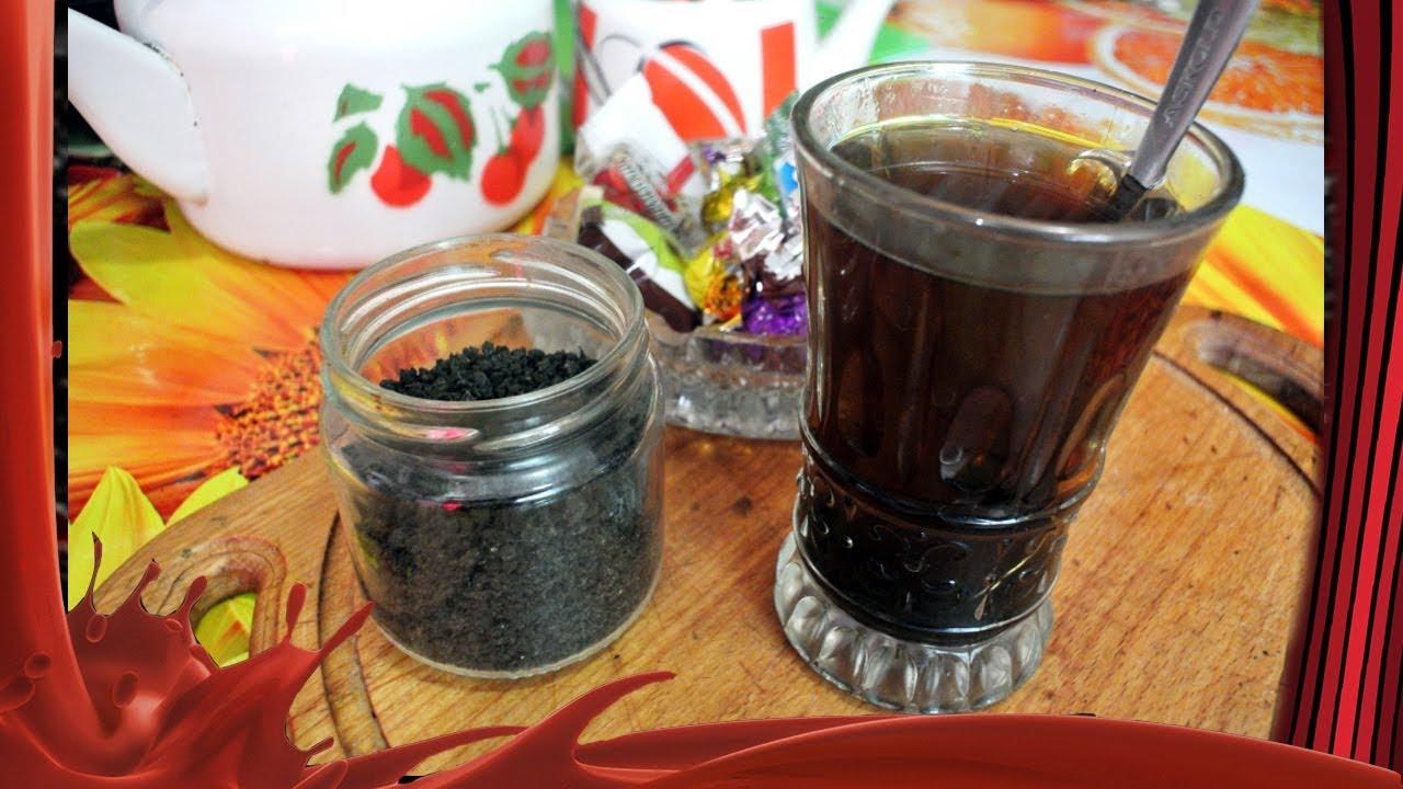 чай из листьев подорожника