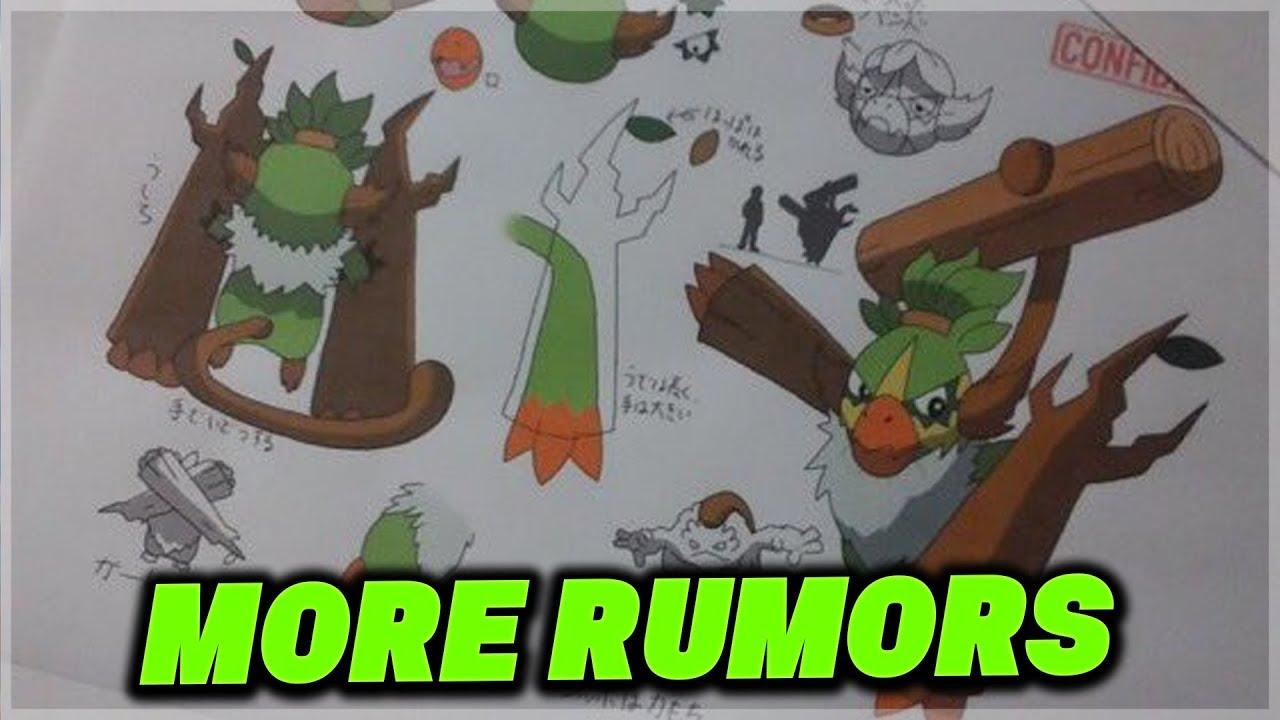 NEW Grookey Evolution Concept Art Rumor for Pokemon Sword and Pokemon Shield  & Reddit Rumor Post!? - YouTube