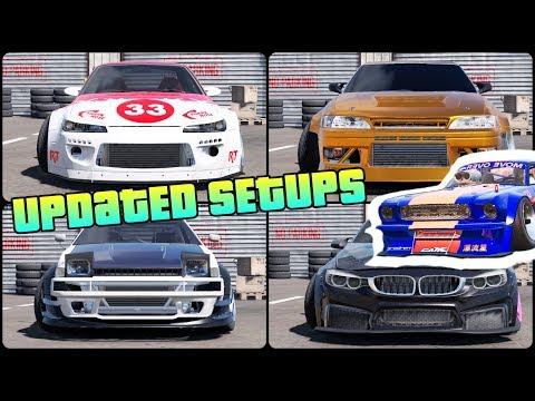 Updated Pro-Drift III Setups For 14 Cars! | CarX Drift Racing 2