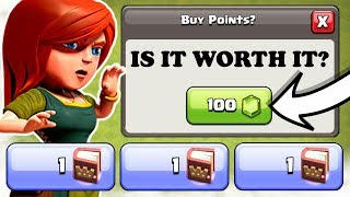 I PAID 100 GEMS FOR THIS! WOW! - Clash Of Clans