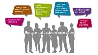 CHARITIES: The Essential Trustee: Key points
