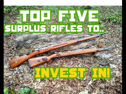 Top 5 Miliary Surplus Rifles for Investment