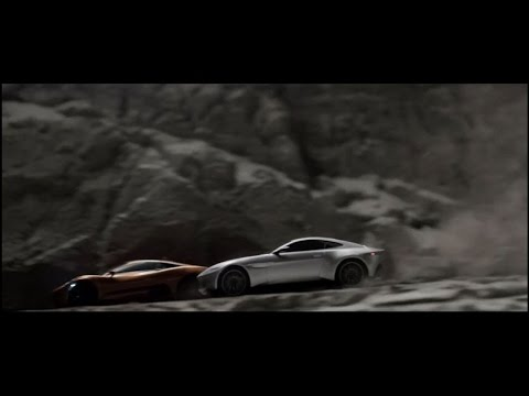 Scalextric SPECTRE set: Featuring Aston Martin DB10