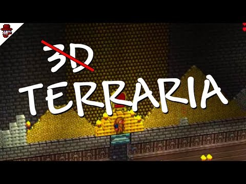 Terraria in 3D? The Hidden and Removed 3D Mod