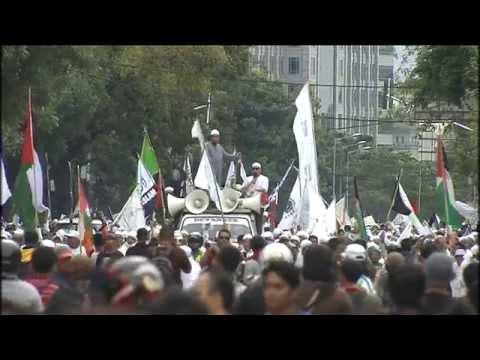 Anti-Israel Strike, Jakarta Indonesia