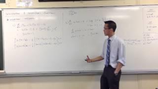 Integration & Logarithmic Functions: Log Integrands (2 of 2)