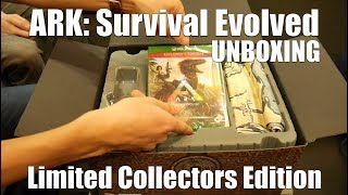 ARK: Survival Evolved - Limited Collectors Edition Unboxing