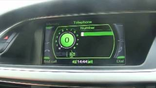 How to pair mobile phone via Bluetooth in Audi A4/A5/A6