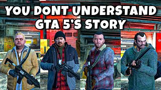Michael Was NEVER In Witness Protection - You Don't Understand GTA 5's Story