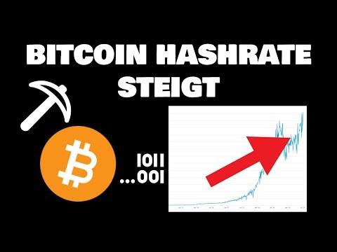 Bitcoin Hashrate Steigt - Was Bedeutet Das?