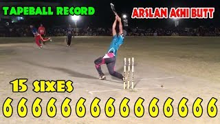 Arslan Achi Butt 118 Runs 15 Sixes In ugoki Semi Final | Arslan Achi Butt 118 Runs |