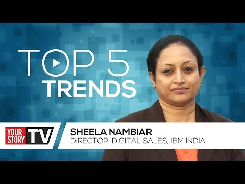 Technology Trends | Sheela Nambiar | YourStory