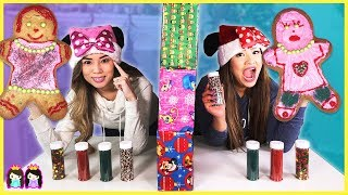 Twin Telepathy Christmas Gingerbread Cookie Challenge!!!