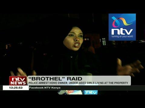 Police raid woman's