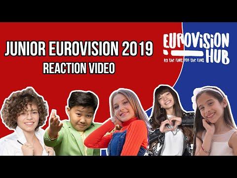 Junior Eurovision Song Contest 2019 (Reaction Video)