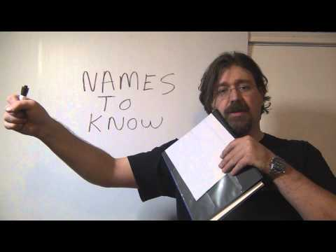 Education File # 3 Names to know