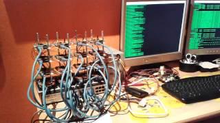 raspberry pi cluster doing rsync