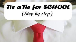 How to tie a tİe for School uniform