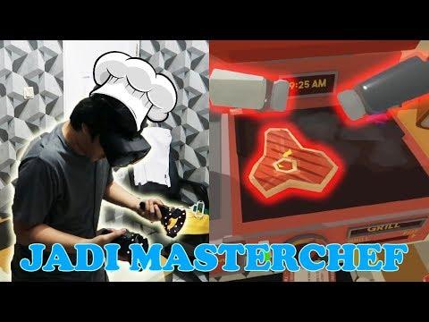 Chef BEACON ikutan MASTERCHEF - Job Simulator VR Indonesia (HMD Samsung Odyssey)