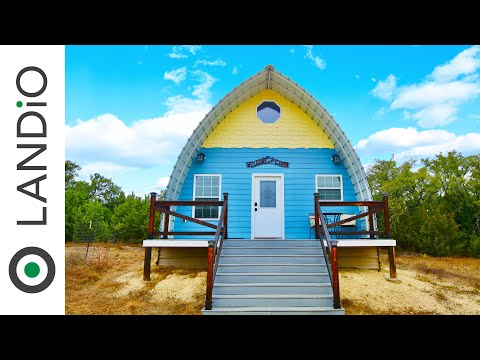 Arched Cabins For Income Producing Real Estate Investment With AirBNB • LANDiO