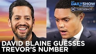 David Blaine Blows Trevor's Mind - Between The Scenes | The Daily Show