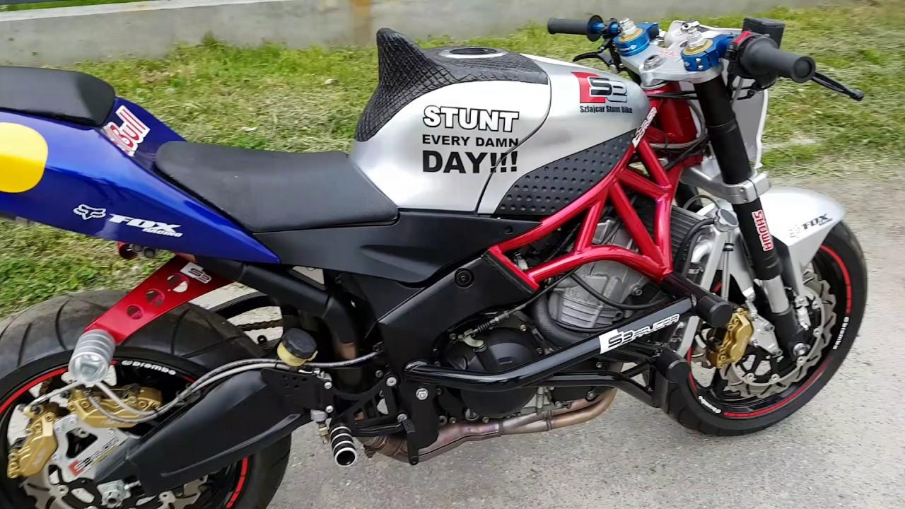 kawasaki zx6r 636 39 39 szfajcar stunt bike 39 39 exhaust sound youtube. Black Bedroom Furniture Sets. Home Design Ideas