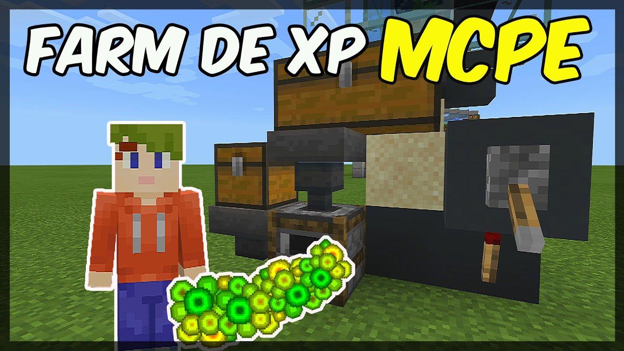 TUTORIAL - FARM DE XP FÁCIL E MUITO EFICIENTE NO MCPE 11.111.11 - (Minecraft  Xbox, Windows 111, MCPE)